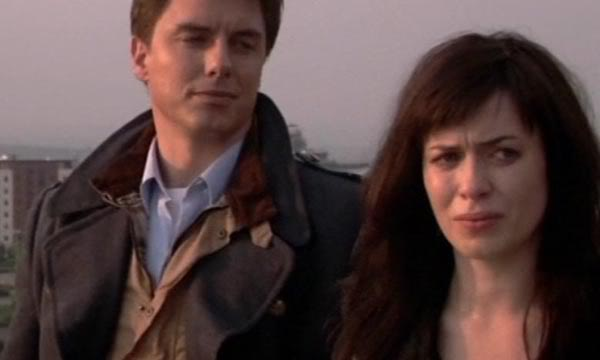 John Barrowman and Eve Myles - Torchwood (c) BBC