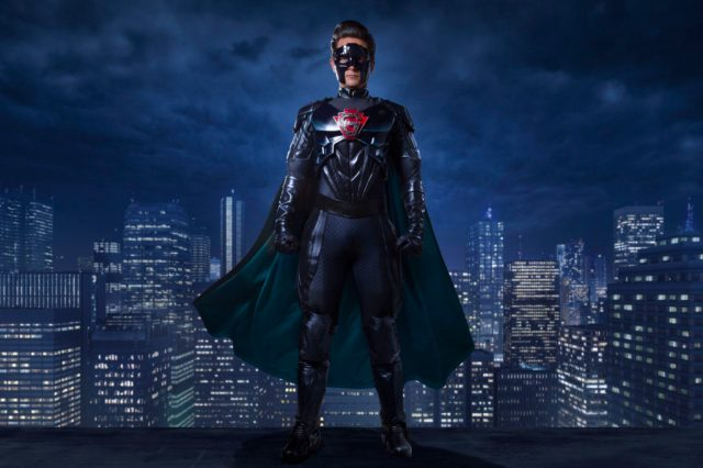Doctor Who Christmas Special 2016 - The Return of Doctor Mysterio (No. n/a) - Picture Shows: - (C) BBC - Photographer: Ray Burmiston