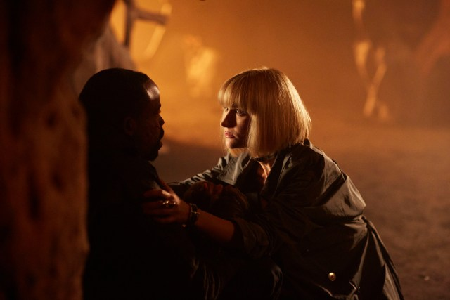 Class - Ep7 (No. 7) - Picture Shows: Ballon (CHIKE OKONKWO), Miss Quill (KATHERINE KELLY) - (C) BBC - Photographer: Simon Ridgeway