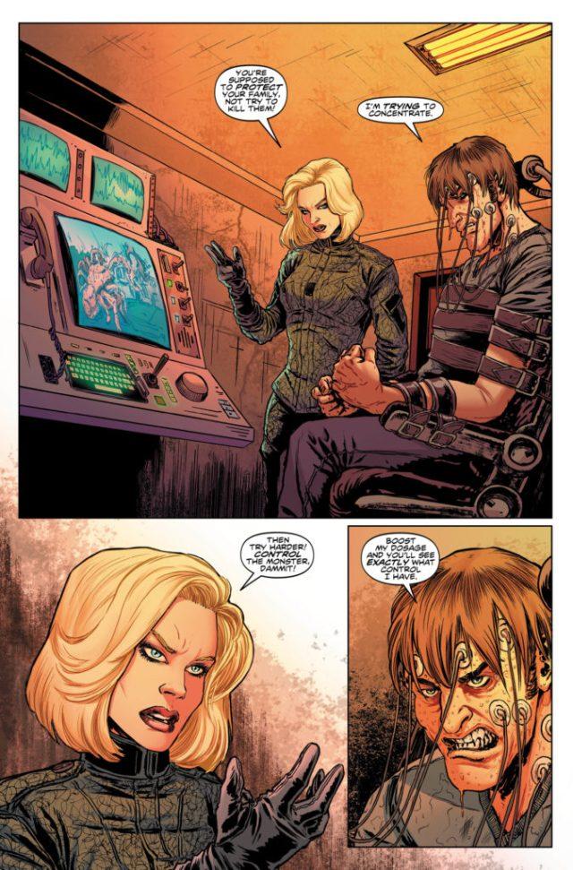 TITAN COMICS - NINTH DOCTOR #7 PREVIEW 2
