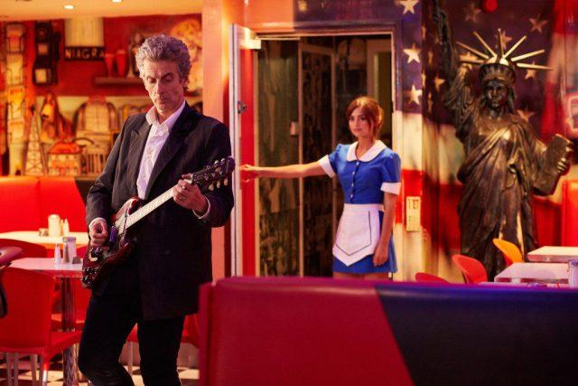 Doctor Who - Series 9 Ep12 HELL BENT - The Doctor (PETER CAPALDI), Clara (JENNA COLEMAN) - (C) BBC   - Photographer: Simon Ridgway