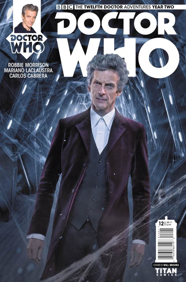 TITAN COMICS - TWELFTH DOCTOR #2.12 Cover B: WILL BROOKS