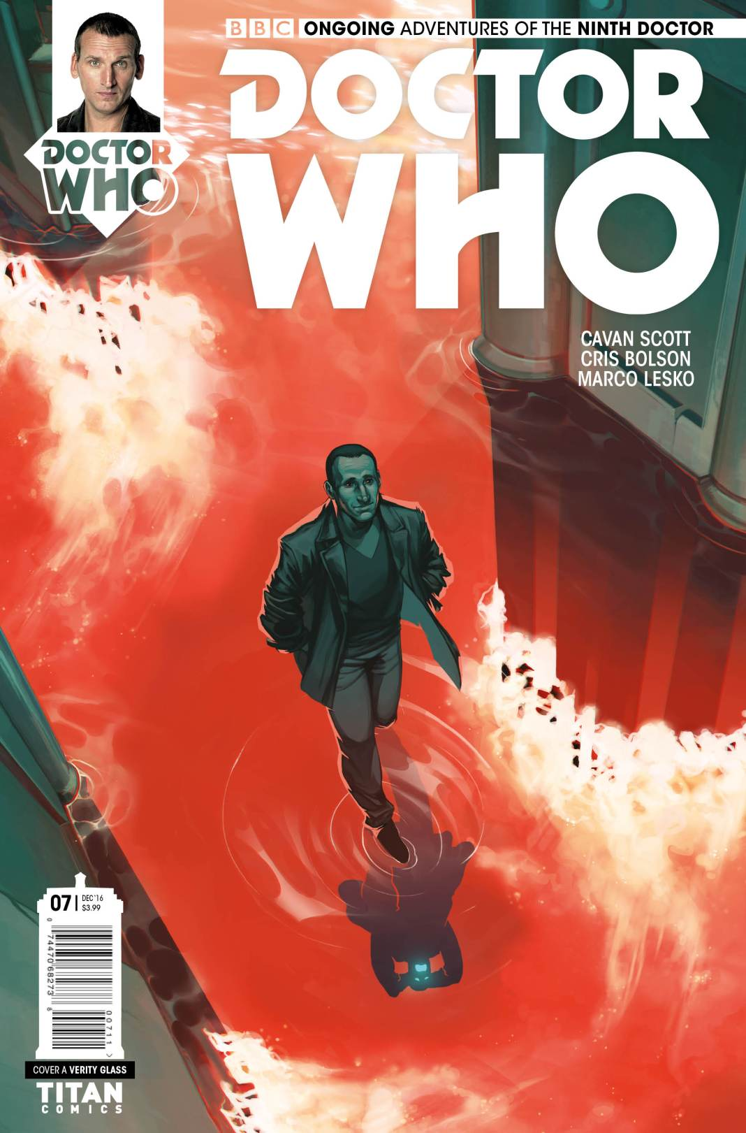 TITAN COMICS - NINTH DOCTOR #7 COVER A BY VERITY GLASS