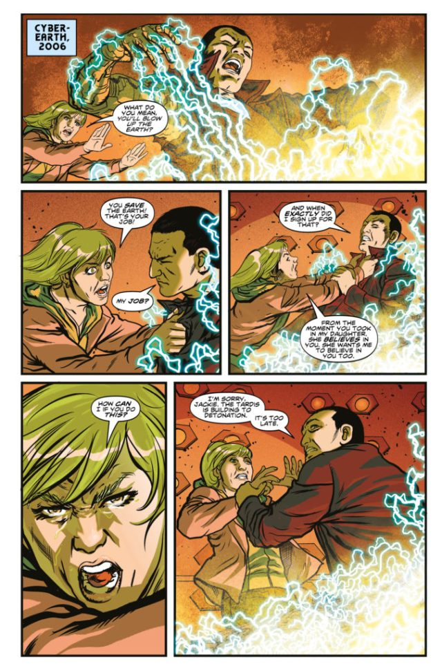 TITAN COMICS - DOCTOR WHO: SUPREMACY OF THE CYBERMEN #5- Preview 3