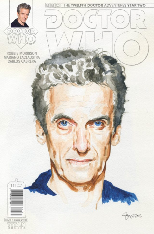 DOCTOR WHO: THE TWELFTH DOCTOR YEAR TWO #11 Cover C by Simon Myers