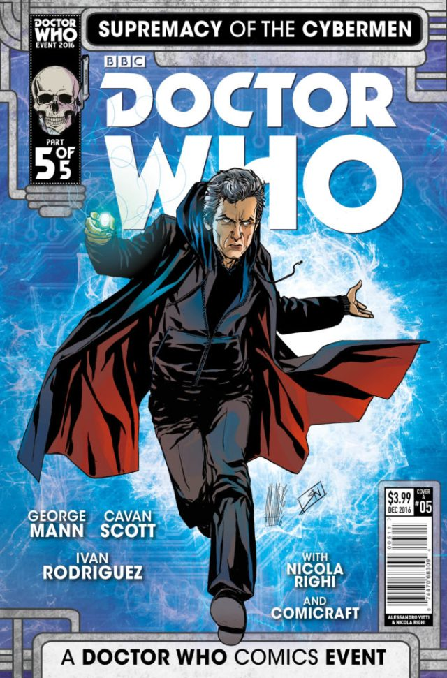 TITAN COMICS - DOCTOR WHO: SUPREMACY OF THE CYBERMEN #5- Cover A by Alessandro Vitt
