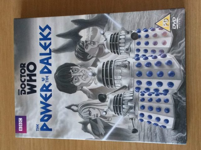 THE POWER OF THE DALEKS DVD FRONT COVER