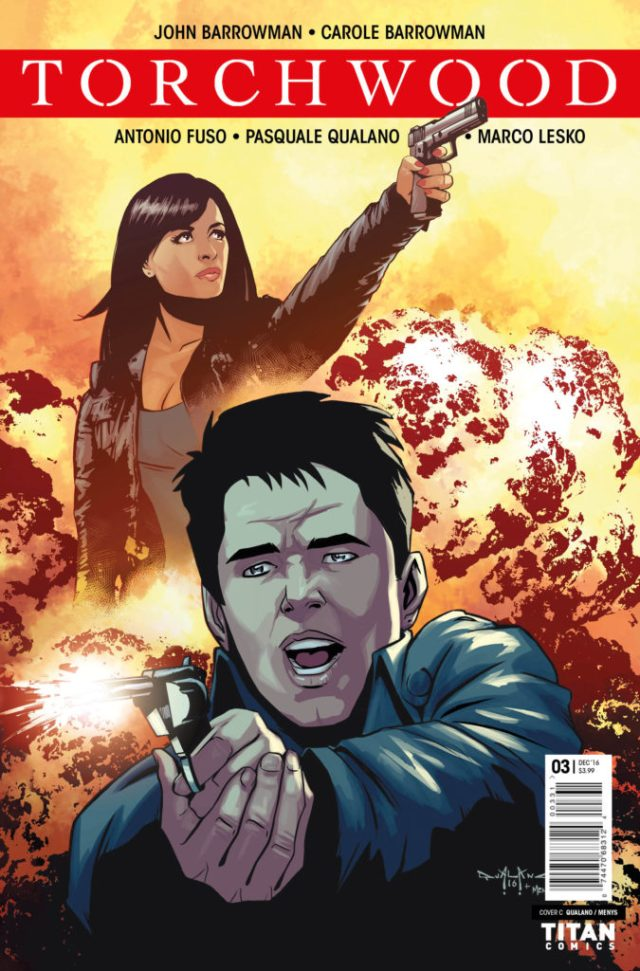 TITAN COMICS - TORCHWOOD #3 COVER C BY Pasquale Qualano