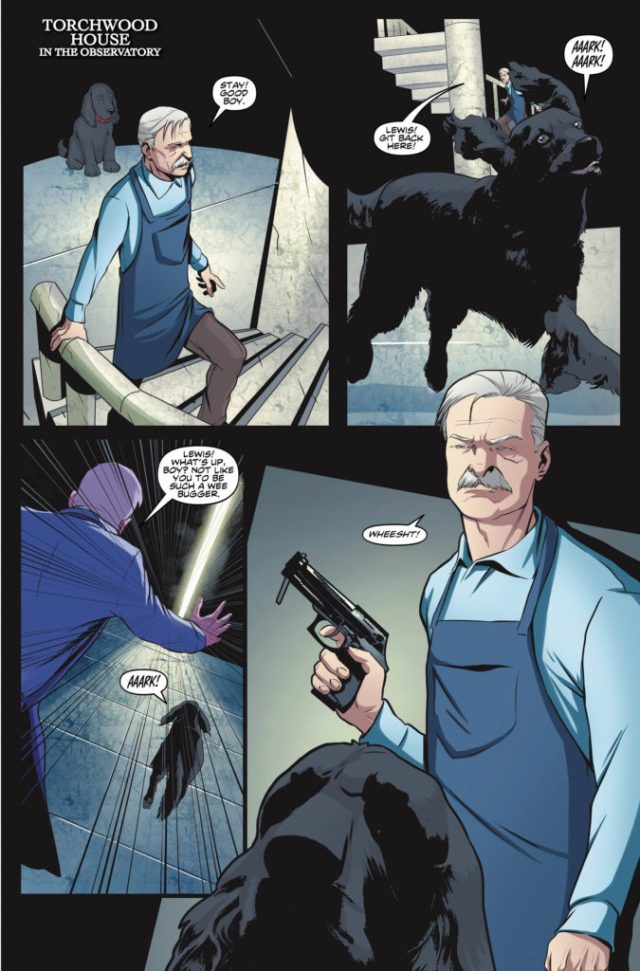 TITAN COMICS - TORCHWOOD #3 PREVIEW 3