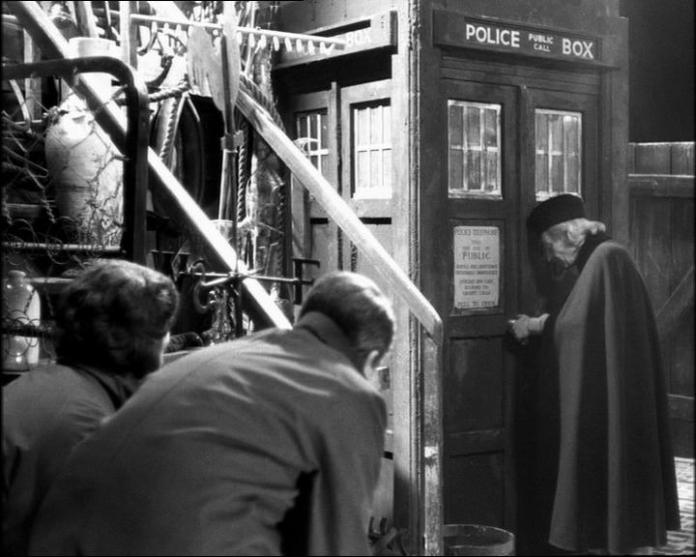 Doctor Who - The Unearthly Child (c) BBC