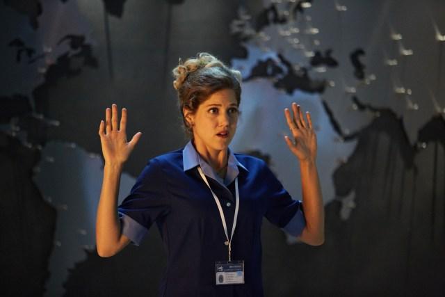 Doctor Who Xmas Special 2016 - Charity Wakefield as Lucy - BBC - Photo Simon Ridgeway