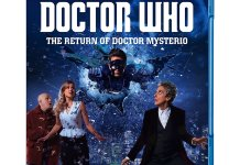 Doctor Who Christmas Special 2016 - The Return of Doctor Mysterio - Blu-ray Cover