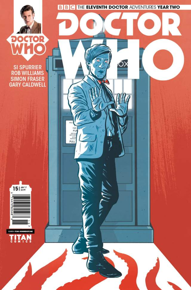 TITAN COMICS - ELEVENTH DOCTOR #2.15 COVER A BY TOM HUMBERSTONE