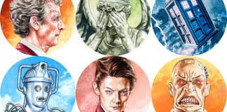 Doctor Who Sticker Pack 1