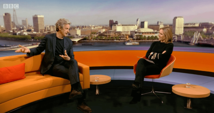 Peter Capaldi and Sophie Raywood on The Andrew Marr Show 18 Dec 2016