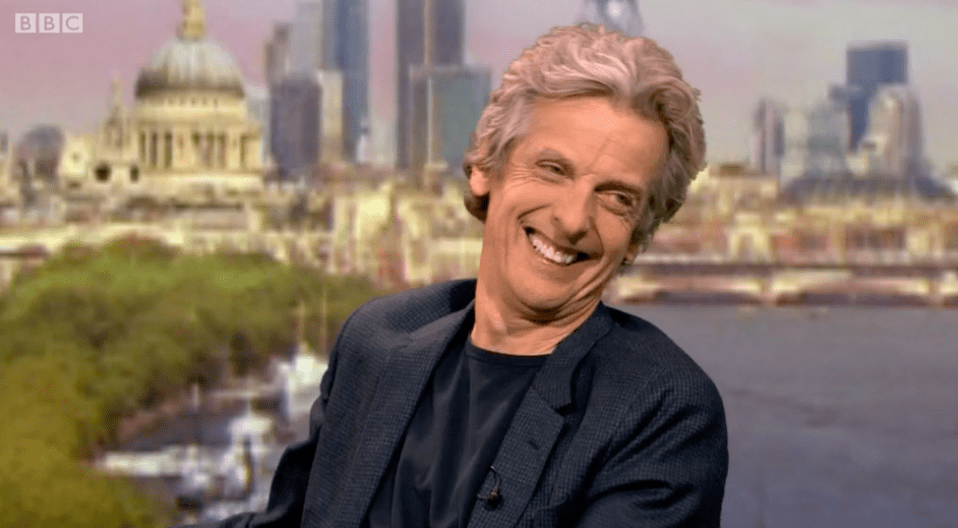 Peter Capaldi on The Andrew Marr Show 18 Dec 2016