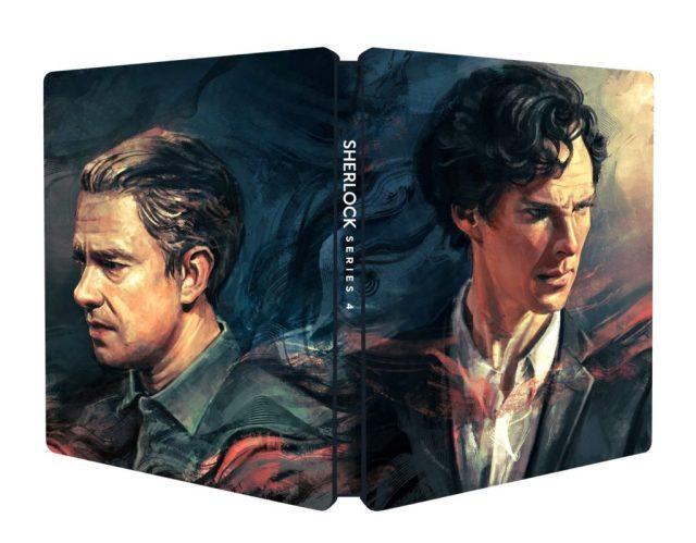 Sherlock Series 4 Blu-ray Steelbook