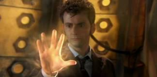 The Tenth Doctors (David Tennant) Regeneration Begins (c) BBC