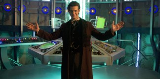 The Doctor (MATT SMITH), Tardis Interior - (C) BBC - Photographer: Adrian Rogers