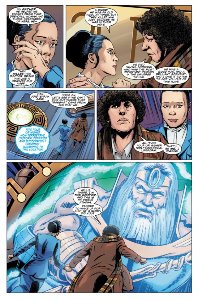 TITAN COMICS - Doctor Who 4th Vol 1 - Preview 1