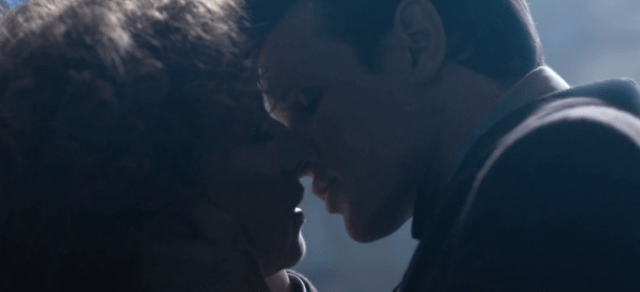 The Doctor and River Song Final Kiss - Doctor Who - The Name of the Doctor (c) BBC