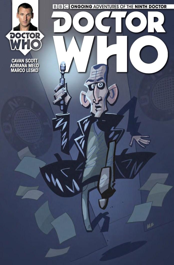 TITAN COMICS - NINTH DOCTOR #9 COVER C BY MATT BAXTER