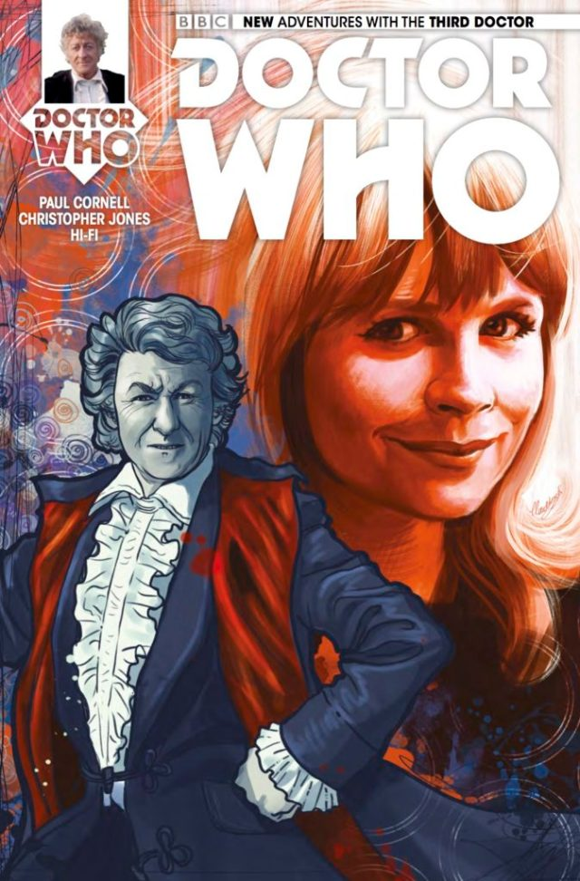 TITAN COMICS - THIRD DOCTOR #4 COVER C BY Claudia SG Iannicello