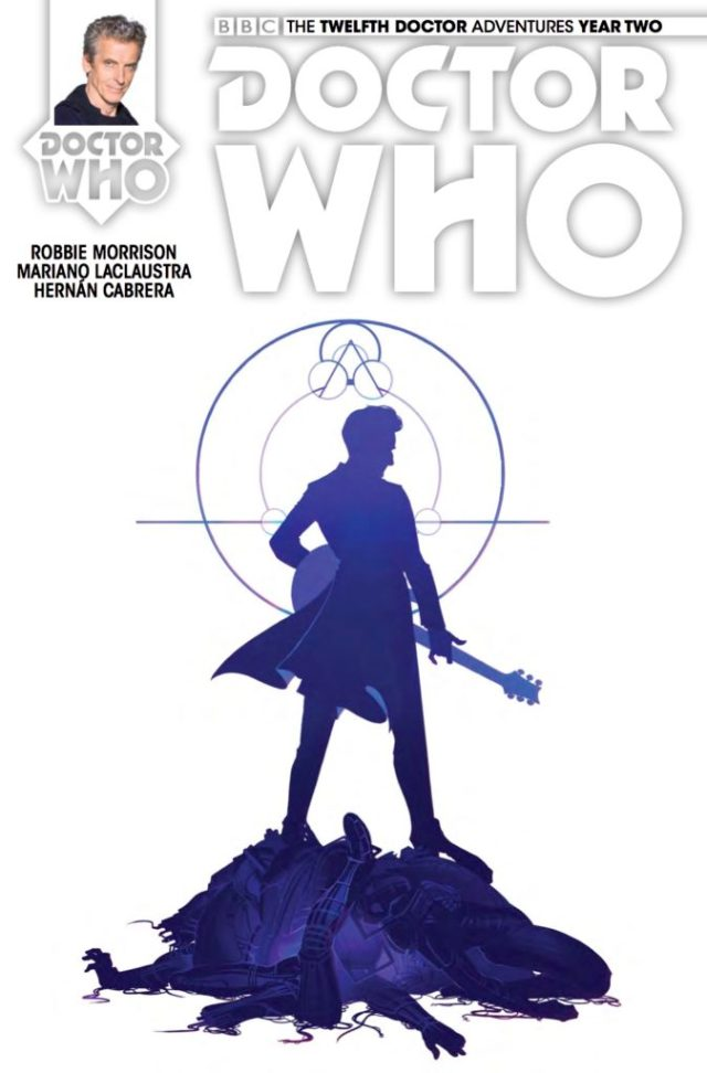 TITAN COMICS - DOCTOR WHO 12th #2.13 - COVER D: Verity Glass