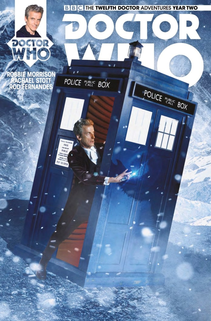 TITAN COMICS - DOCTOR WHO TWELFTH DOCTOR #2.14 - COVER B - Photo