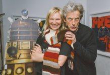 Jo Whiley and Peter Capaldi - BBC Radio 2 - 30th January 2017 (c) BBC
