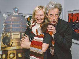 Jo Whiley and Peter Capaldi - BBC Radio 2 - 30th January 2017 (c) BBC