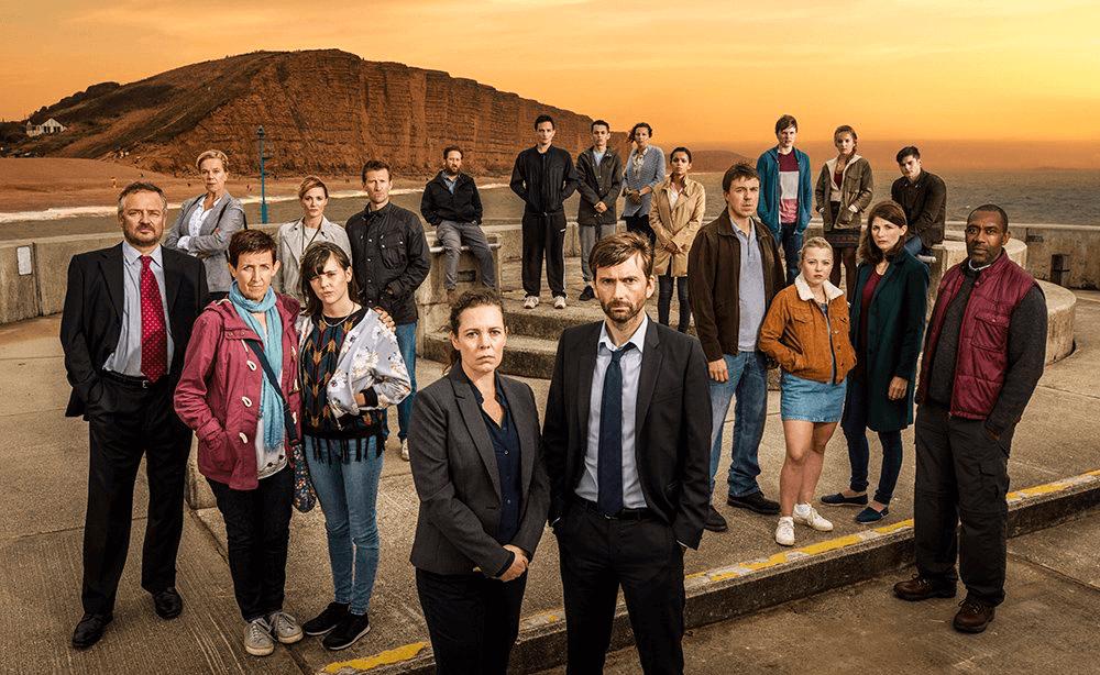 Broadchurch Series 3 - Full Cast (c) ITV