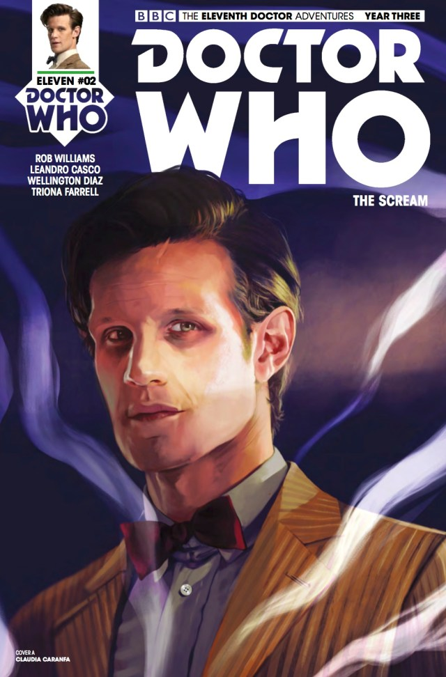 TITAN COMICS - DOCTOR WHO: ELEVENTH DOCTOR #3.2 - COVER A: Claudia Caranfa