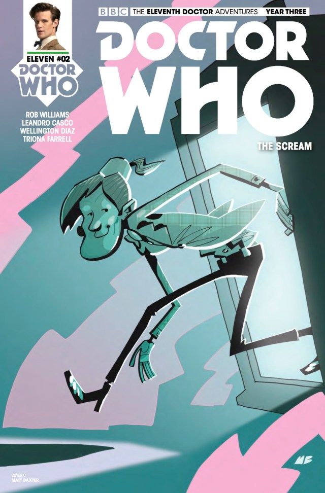 TITAN COMICS - DOCTOR WHO: ELEVENTH DOCTOR #3.2 - COVER C: Matt Baxter