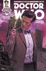 TITAN COMICS - DOCTOR WHO: ELEVENTH DOCTOR #3.3 - COVER B: Will Brooks