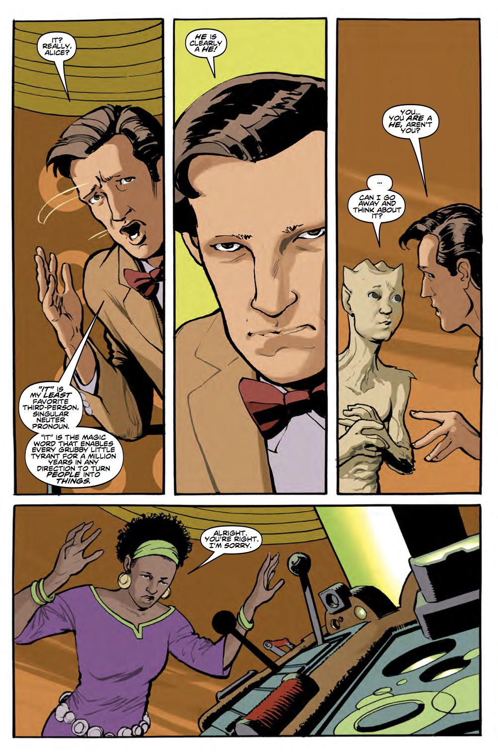 TITAN COMICS - DOCTOR WHO: ELEVENTH DOCTOR #3.3 - PREVIEW 2