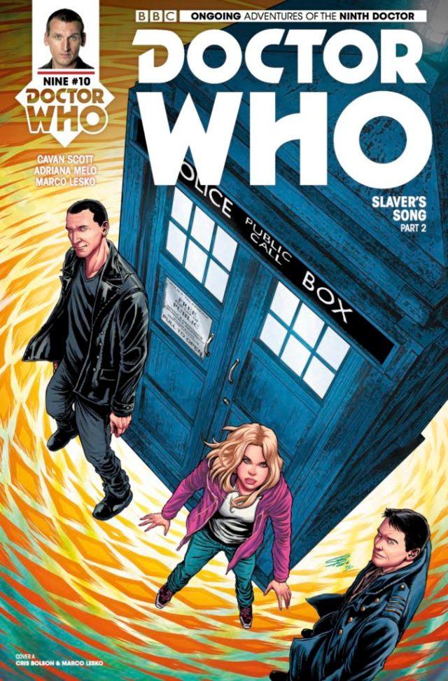 TITAN COMICS - DOCTOR WHO: NINTH DOCTOR #10 - COVER A: Cris Bolson & Marco Lesko