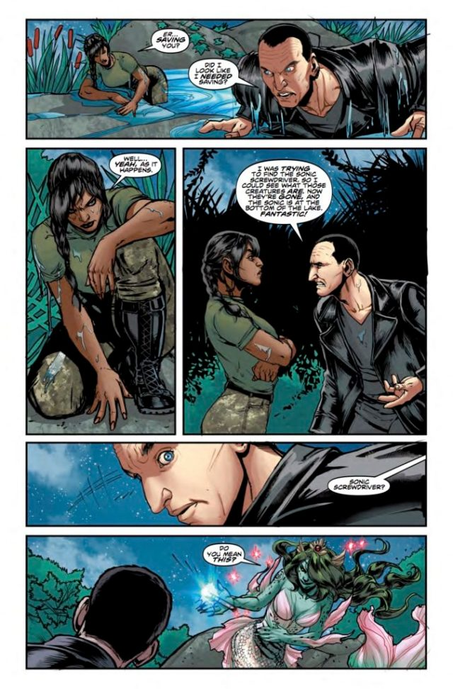 TITAN COMICS - DOCTOR WHO: NINTH DOCTOR #10 - PREVIEW 3