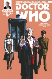 TITAN COMICS - DOCTOR WHO: THIRD DOCTOR #5 - COVER A: Andy Walker