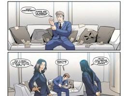 TITAN COMICS – TENTH DOCTOR 3.2 PREVIEW 1