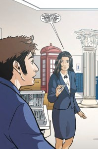 TITAN COMICS – TENTH DOCTOR 3.2 PREVIEW 2