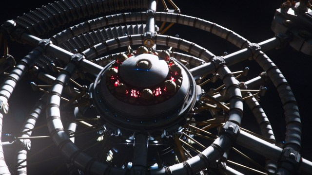 Doctor Who S10 - Screen grab from episode 5 Space station - (C) BBC - Photographer: screen grabs