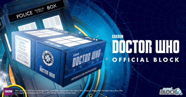 Doctor Who Official Nerd Block