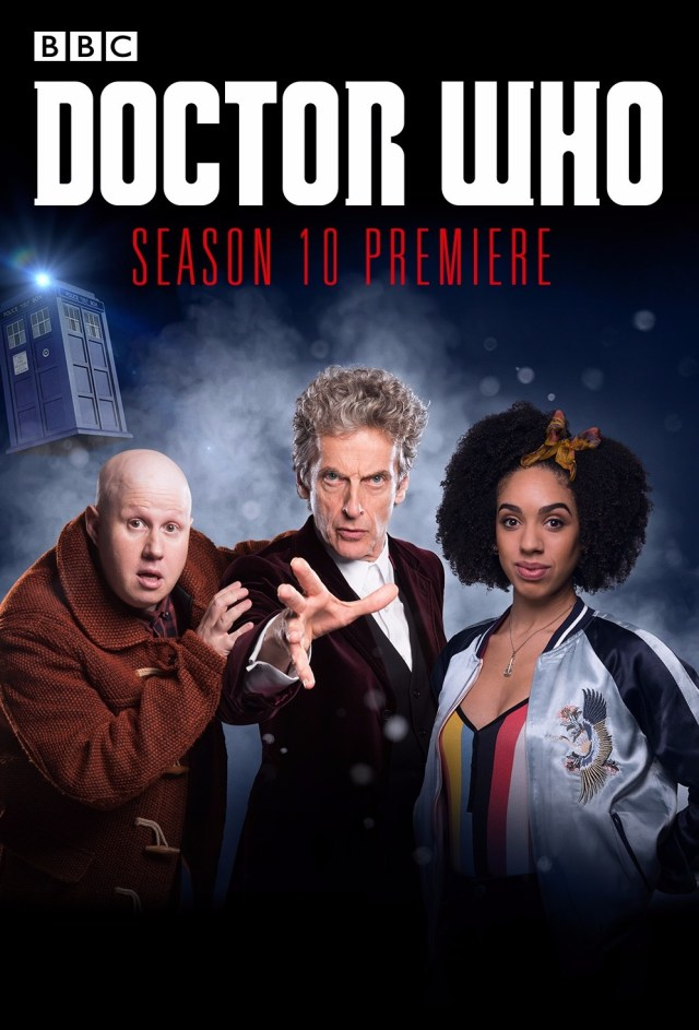 Doctor Who Series 10 US Cinema Poster (c) BBC/Fathom Events)