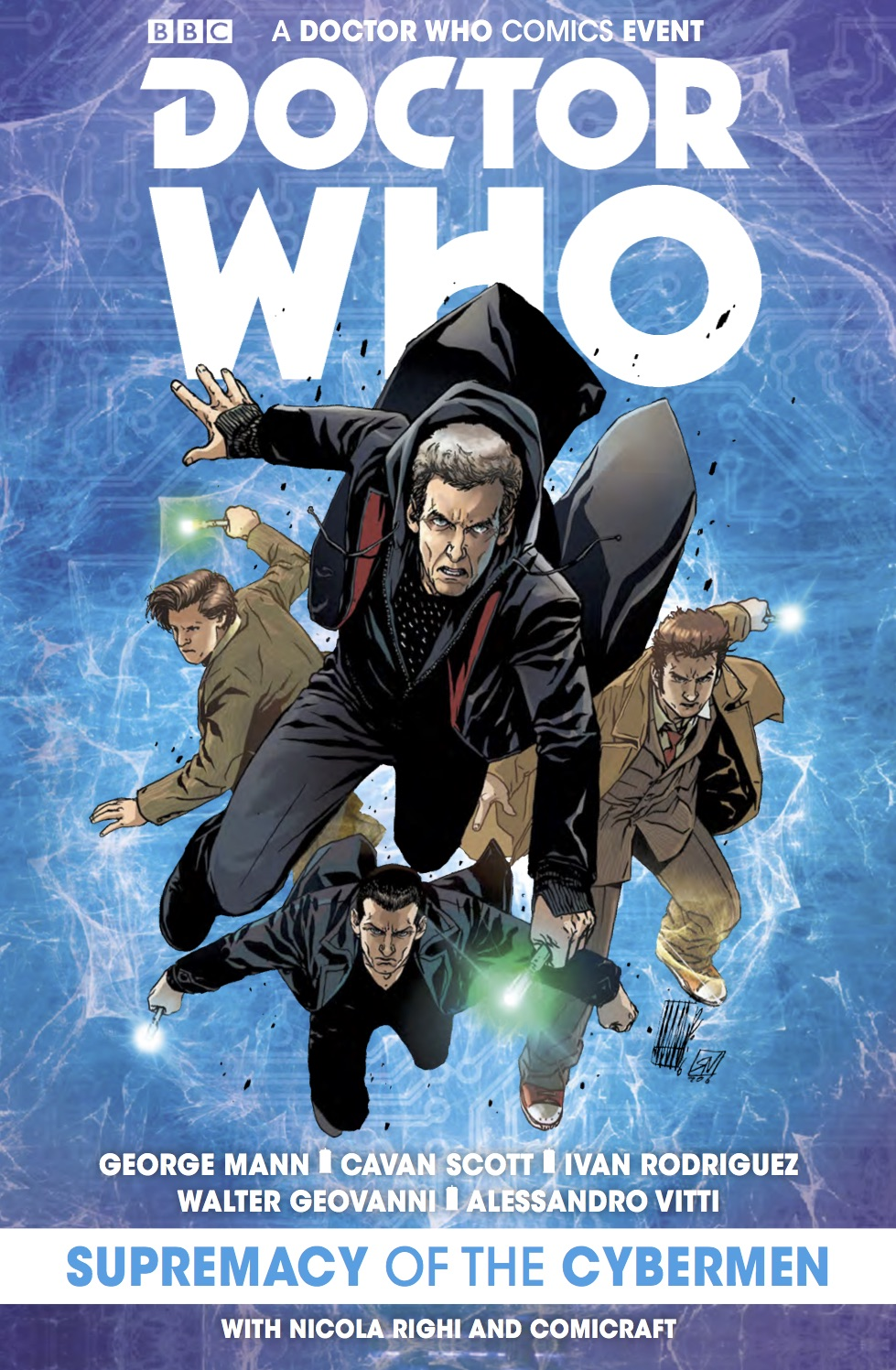 TITAN COMICS - DOCTOR WHO: EVENT 2016 - SUPREMACY OF THE CYBERMEN - COVER