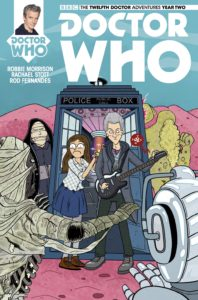 TITAN COMICS - Doctor Who: Twelfth Doctor #2.15 - Cover C: Linked Cover by Marc Ellerby