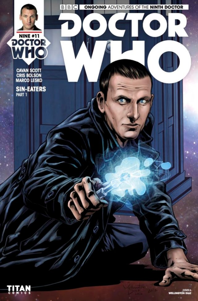 TITAN COMICS - DOCTOR WHO 9TH DOCTOR #11 ​Cover A: ​Wellington Diaz