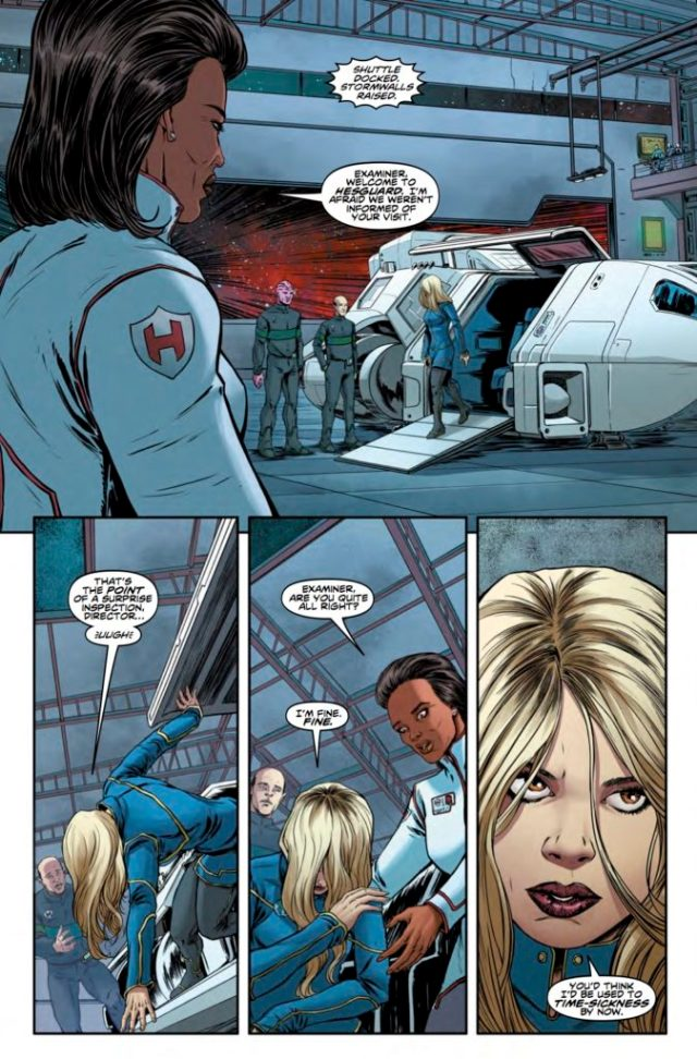 TITAN COMICS - DOCTOR WHO 9TH DOCTOR #11 PREVIEW 2