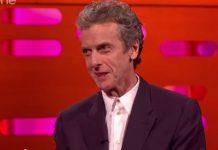 Peter Capaldi – The Graham Norton Show - September 2014 (c) BBC