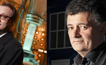 Doctor Who Showrunners - Russel T Davis and Steven Moffat
